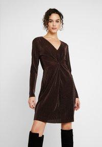 Gina Tricot - PLEATED DRESS - Day dress - java - 0
