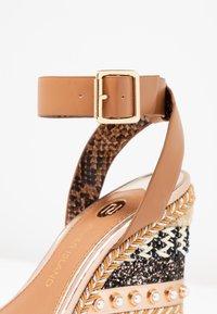 River Island - High heeled sandals - brown - 2