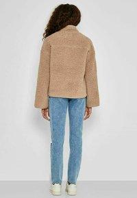 Noisy May - ANORAK - Fleece jacket - beige - 2