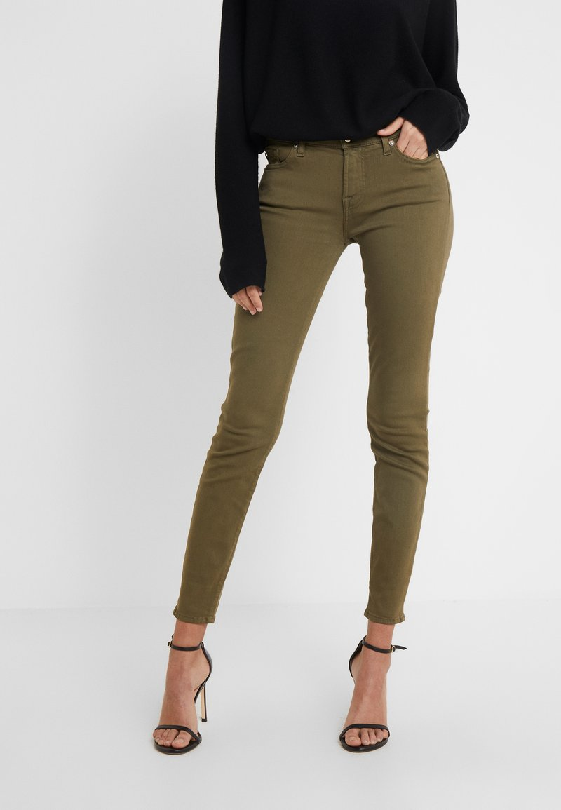 7 for all mankind - Jeans Skinny Fit - army