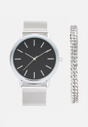 SET - ARMBAND/BRACELET - Horloge - silver-coloured