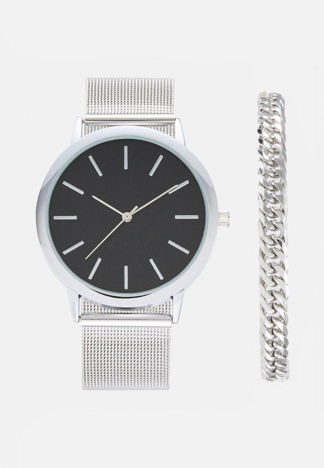 SET - ARMBAND/BRACELET - Montre - silver-coloured