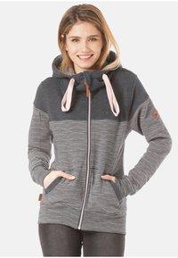alife & kickin - PALINA  - Zip-up hoodie - stripes - 0