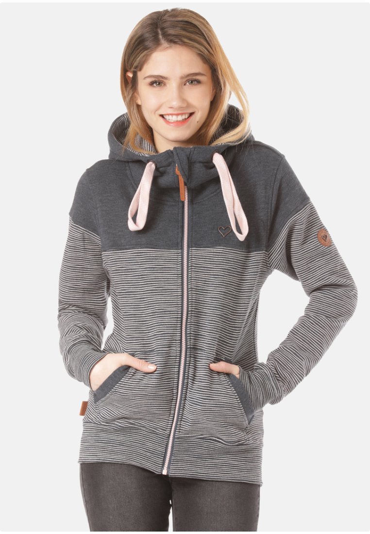alife & kickin - PALINA  - Zip-up hoodie - stripes