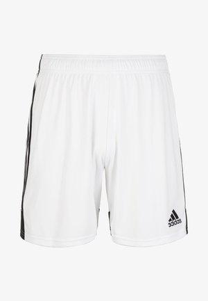 TASTIGO  - Sports shorts - white / black