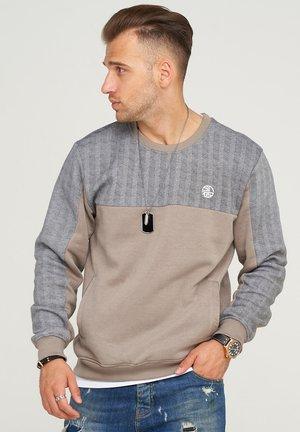 VICTORIA - Sweatshirt - taupe