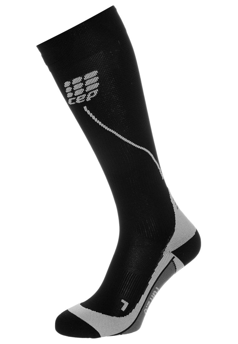 CEP - PROGRESSIVE+ RUN - Sports socks - black/grey