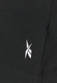 Reebok - LONG SLEEVE - Sports shirt - black - 2
