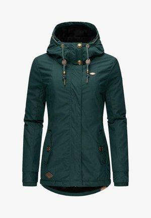 MONADE - Winter coat - dark green