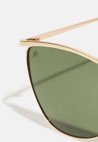 CHPO - BOULALA UNISEX - Sunglasses - gold/green - 3