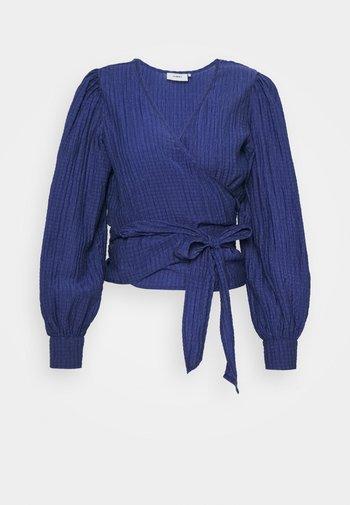 PATTI - Long sleeved top - sodalite blue