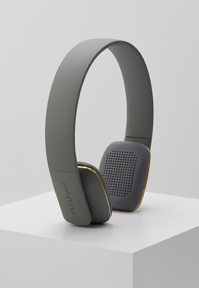AHEAD HEADSET BLUETOOTH - Hörlurar - cool grey