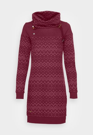 DRESS - Vestido ligero - wine red
