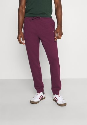 Tracksuit bottoms - bordeaux
