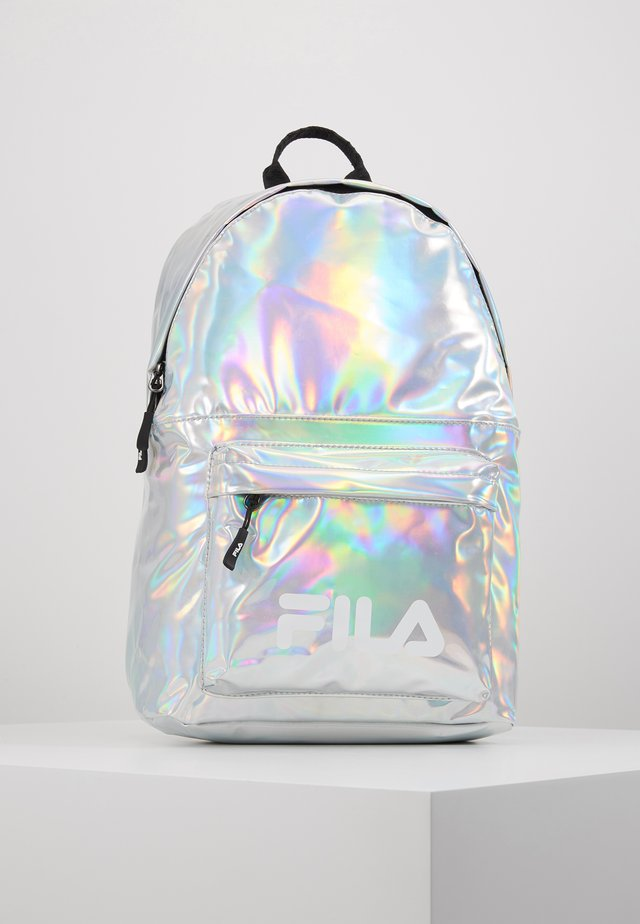 NEW BACKPACK S'COOL HOLO - Rucksack - silver