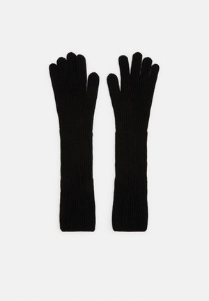 LONG GLOVES - Gloves - black