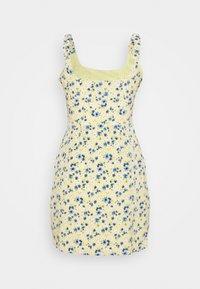 Fashion Union - SCUNCH - Day dress - yellow/blue - 0
