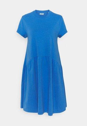 Žerzejové šaty - intense blue