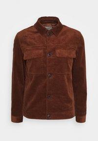 SLHCHARLIE CORD  - Summer jacket - mottled orange