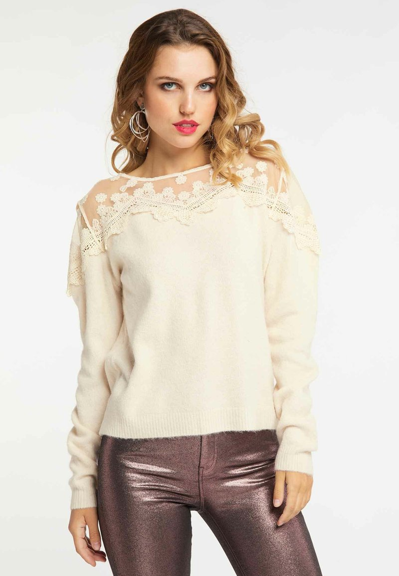 faina - Jumper - beige