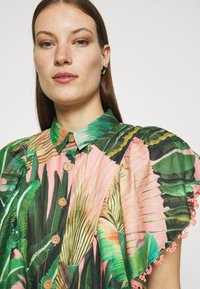 Farm Rio - AMZONIA FOREST FRILLED SLEEVES SHIRT - Košile - multi - 3