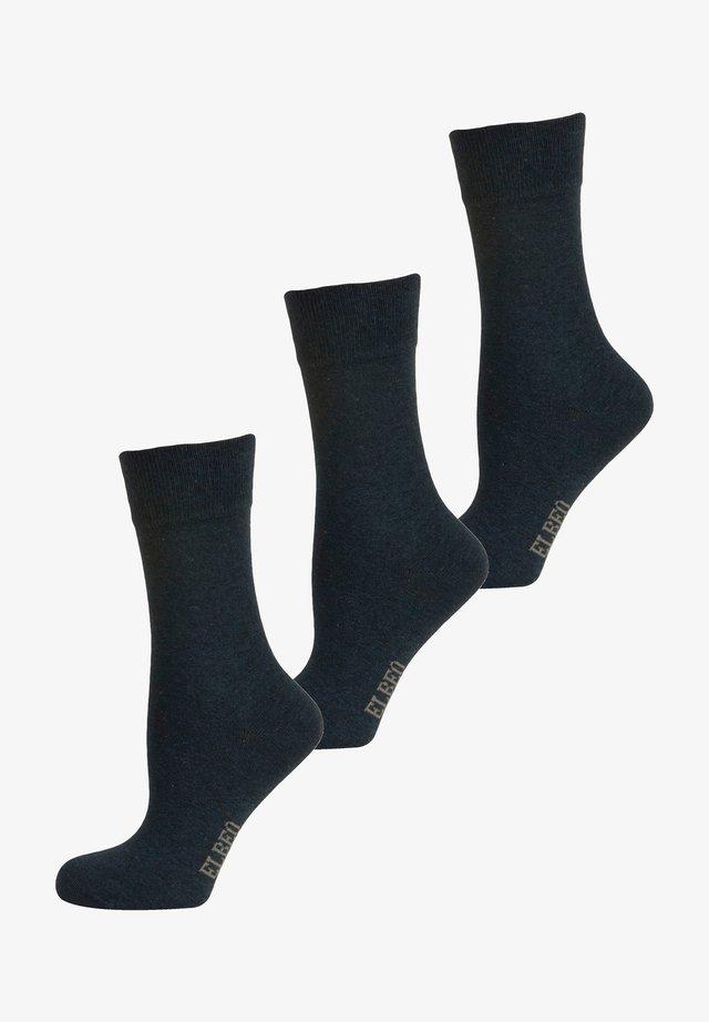3 PACK - Sokken - denim melange