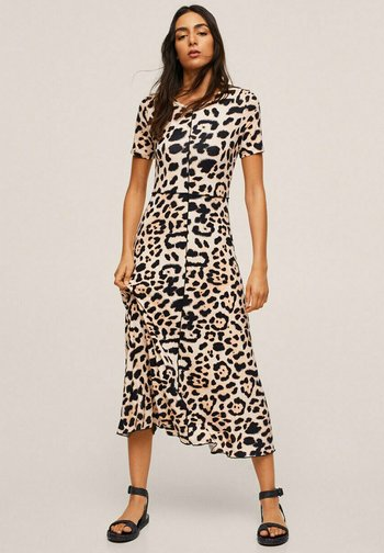 Jumper dress - bruin