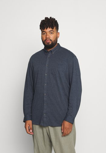 JORAARON SHIRT - Shirt - navy blazer melange