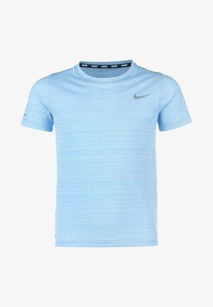 MILER  - Print T-shirt - psychic blue