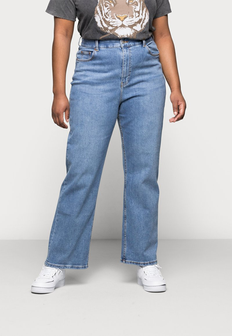 Dr.Denim Plus - ECHO DAD - Jeans relaxed fit - empress blue