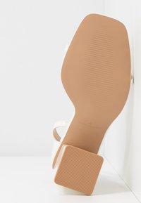 RAID - ANWEN - Sandaler med høye hæler - offwhite - 6