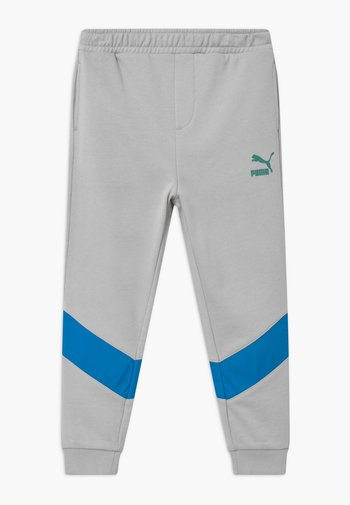 PUMA X ZALANDO TAPERED - Pantalones deportivos - light grey