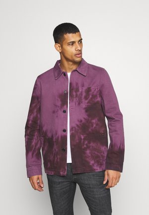 BARNEY - Denim jacket - violet