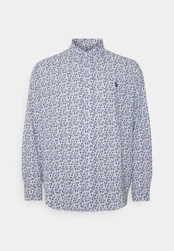 Shirt - white gryphon floral
