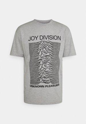 JOY DIVISION - Print T-shirt - grey marl