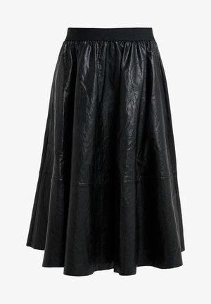 JALOMA - A-line skirt - black