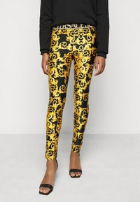 Versace Jeans Couture - LADY FUSEAUX - Leggings - Trousers - black - 0