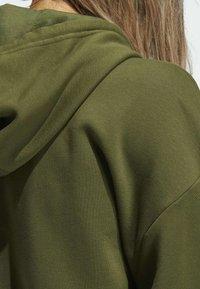 adidas Performance - Hoodie - green - 6