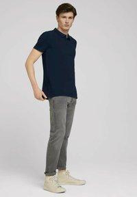 TOM TAILOR DENIM - Polo shirt - sky captain blue - 1