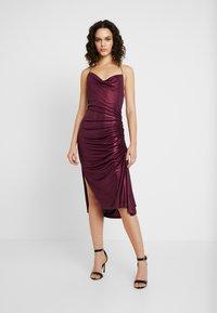 Soaked in Luxury - SLADALYNN STRAPDRESS - Vestido de fiesta - grape wine - 0
