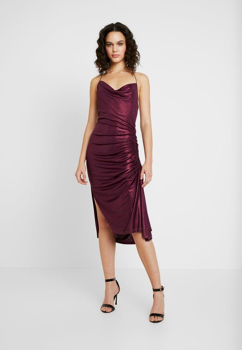 Soaked in Luxury - SLADALYNN STRAPDRESS - Vestido de fiesta - grape wine