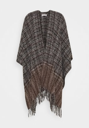 FANNA  - Poncho - brown multi