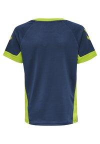 Hummel - Print T-shirt - dark denim - 2