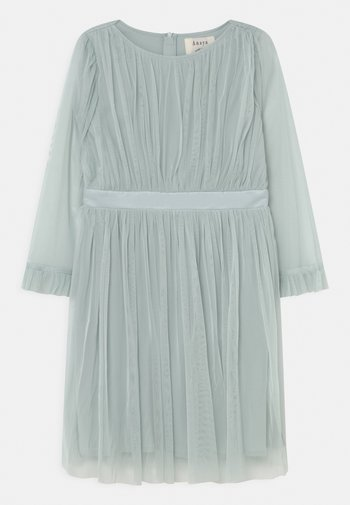 FLARED SLEEVE DRESS - Cocktail dress / Party dress - pale blue