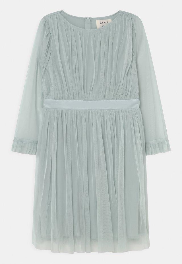 FLARED SLEEVE DRESS - Cocktailjurk - pale blue