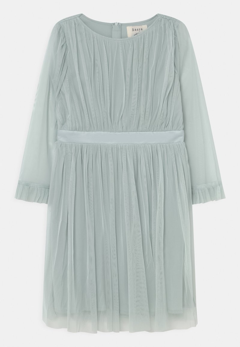 Anaya with love - FLARED SLEEVE DRESS - Vestido de cóctel - pale blue
