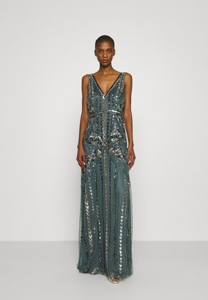 ALL OVER EMBELLISHED MAXI DRESS - Occasion wear - multi