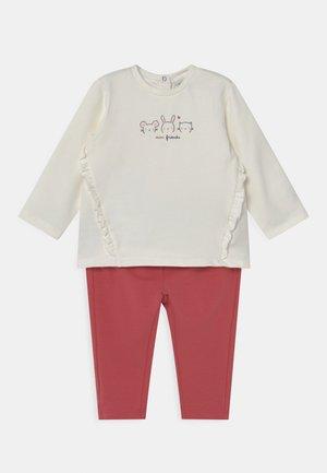 NEWBORN SET - Sweatshirt - snow white