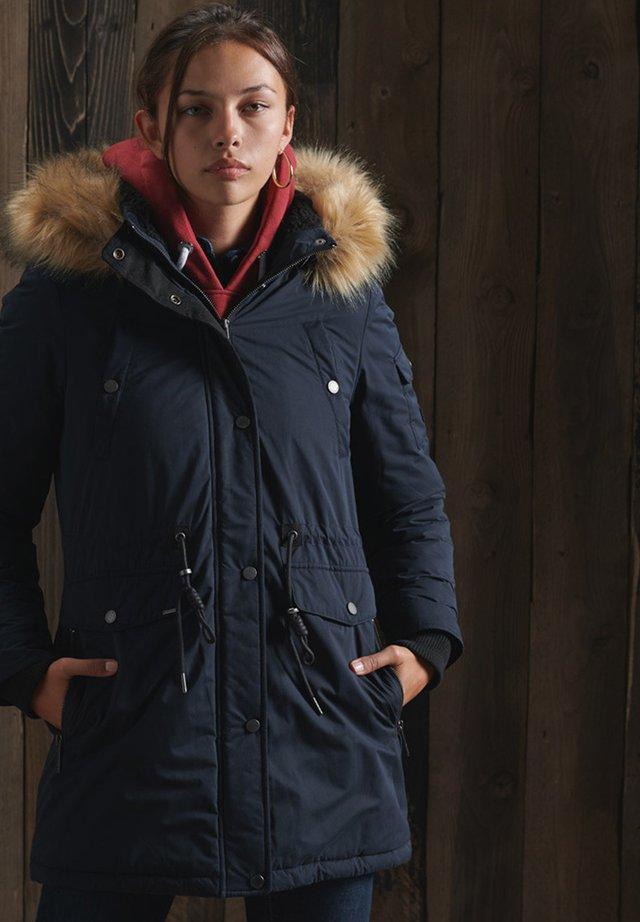 Winter coat - eclipse navy