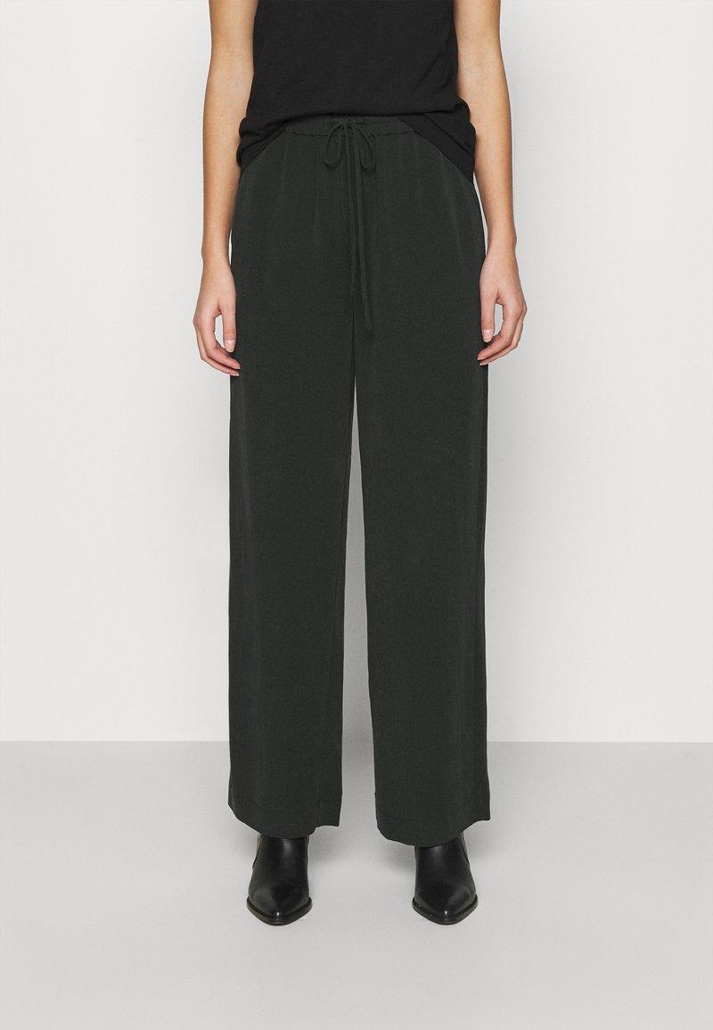 mbyM - YVETTE - Trousers - black